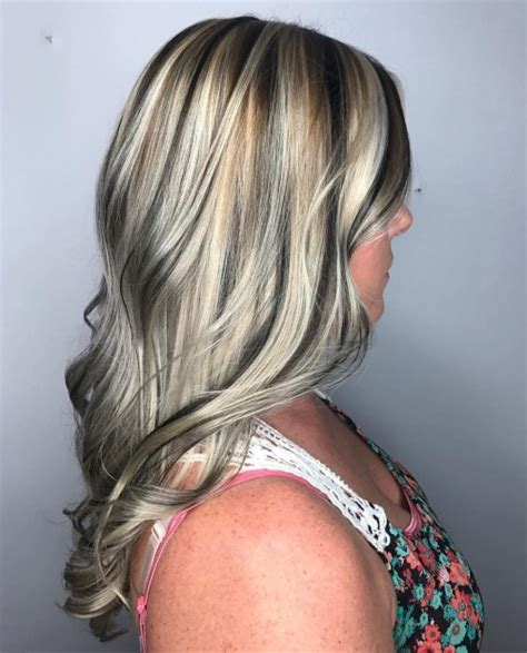 salt pepper hair with blonde streaks ideas 20 best hair color ideas in the world of chunky highlights
