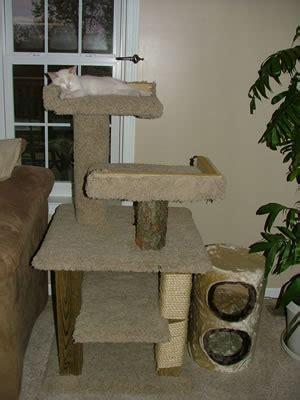 wood cat tree plans   blueprints  diy