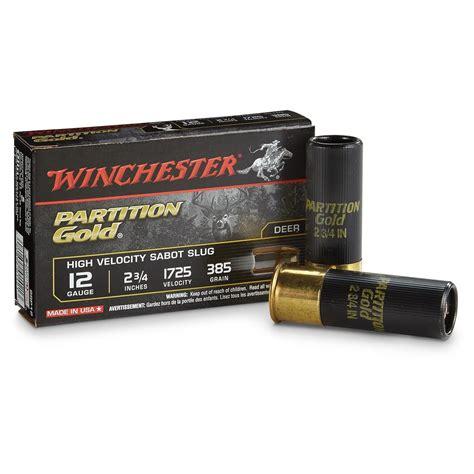 winchester supreme winchester supreme partition gold 12 2 3 4 quot 385