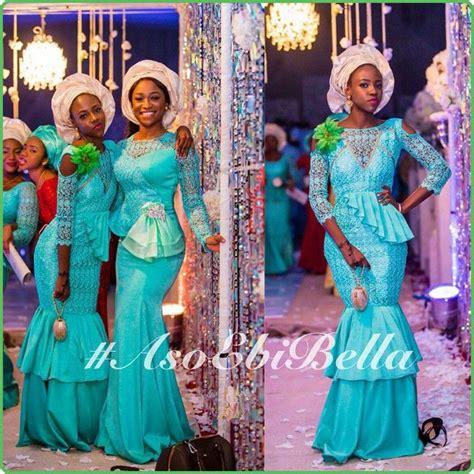 asoebi bella presentation blue bellanaijaweddings asoebibella asoebi nigerianwedding
