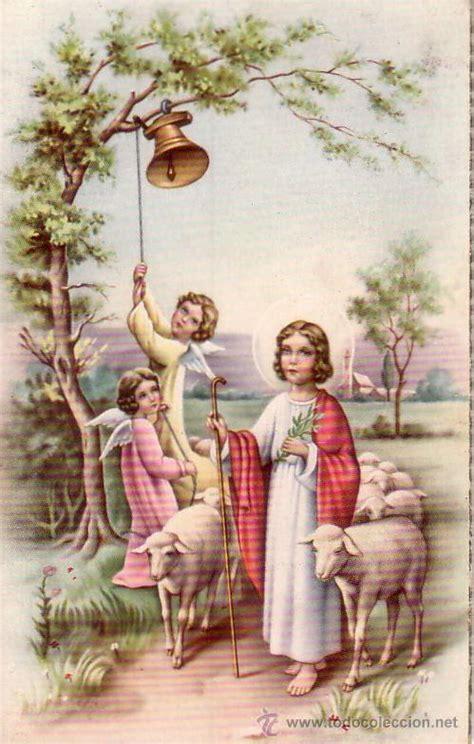 imagenes de jesus el buen pastor para nino ni 241 o jesus buen pastor esc rita y fechada en comprar