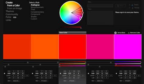 complementary color picker 5 color palette tools color picker tip junkie