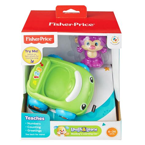 Fisher Price Laugh Learn Puppys Learning Car X2139 fisher price laugh and learn sis monkey s puppy s learning car truck toys ebay