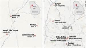 walking dead tours in atlanta rural
