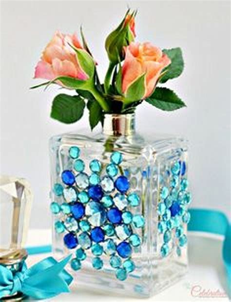 home made decoration things recycled perfume bottles decoration pieces recycled things