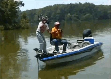 falling out of boat funny bill dance gifs will make you laugh out loud