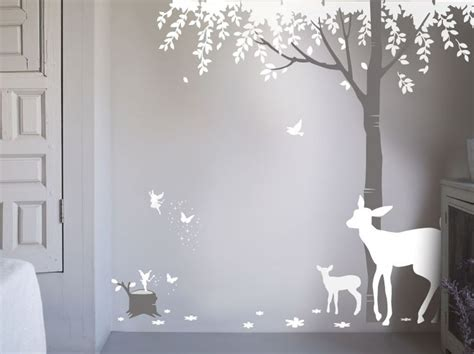 enchanted forest wall stickers 25 best ideas about wall stickers on brick wallpaper wall and wall design