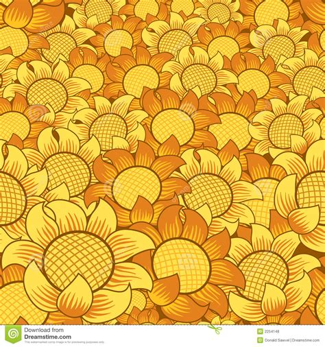 pattern yellow and orange orange yellow flower pattern stock vector image 2254148