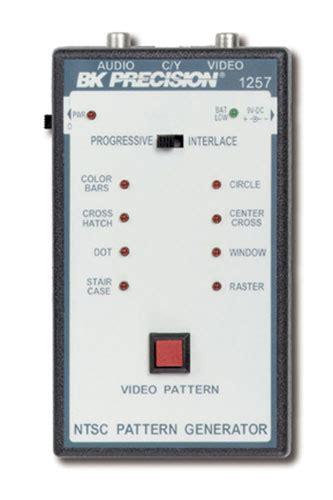 pattern generator online java discontinued model 1257 portable ntsc generator b k