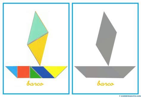 imagenes de barcos con tangram barco 6 web del maestro