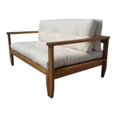 divani letto con struttura in legno divano letto in legno scivolo con futon arredo e corredo