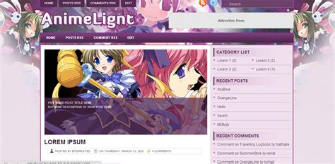 download kumpulan template blog anime keren xeroncyber blog