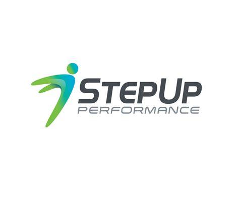 design a logo steps modern professional it company logo design for step up