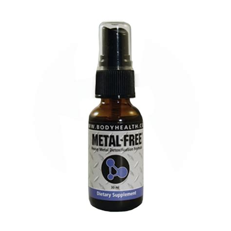 Detox Spray by Metal Free Heavy Metal Detox Spray