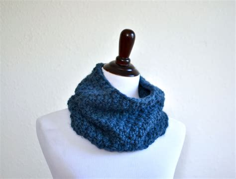 knitted neck warmer chunky knit cowl neck warmer cowl scarf knitted