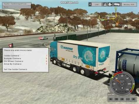 download mod for euro truck simulator game modding euro truck simulator snow mod with download link youtube