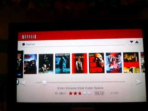 watch instantly netflix watch instantly on nintendo wii first impressions
