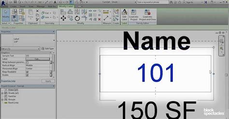 revit label tutorial building a room tag with separate labels revit 2016 free