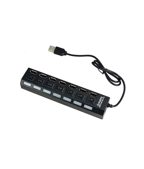 Usb Hub 7 Port 2 0 High Speed With Switch On terabyte terabyte usb 2 0 high speed hub 7 port buy terabyte terabyte usb 2 0 high speed hub 7