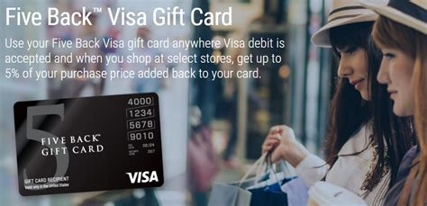 Visa Five Back Gift Card - cvs leaving 5 back visa program as of january 20th frequent miler