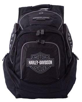 Kaos Harley Davidson Barnett Grey Black bp1900s gy harley davidson 174 backpack black grey b s