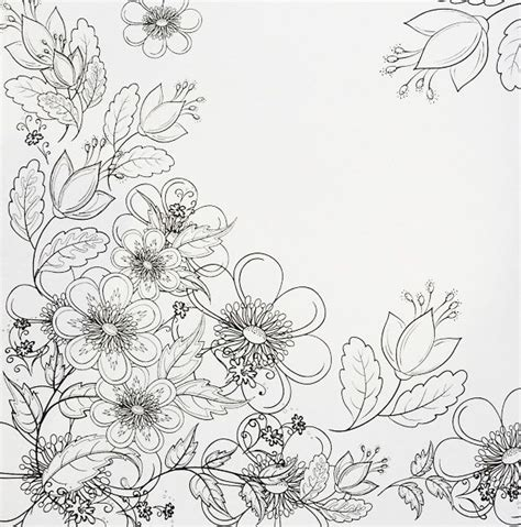 grown up coloring pages of flowers 17 best images about flower colouring on pinterest
