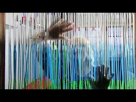 how to make beaded curtains how to make a beaded door curtain out of straws