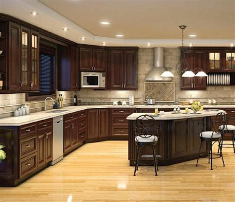Kitchen Brown Cabinets by 1000 Ideas About Brown Kitchens On Ceramic