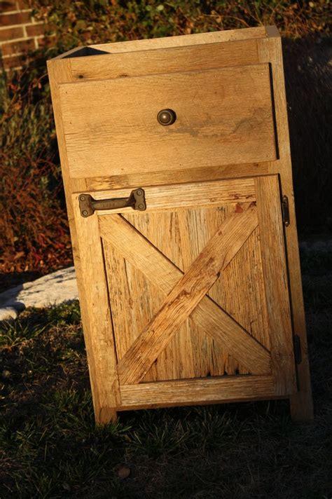 Barnwood Cabinet Doors Your Custom Rustic Barn Wood Vanity Or Cabinet Barn Door Style