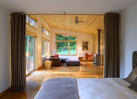 vorhang trennwand vorhang als raumtrenner verwenden kluge wohnideen