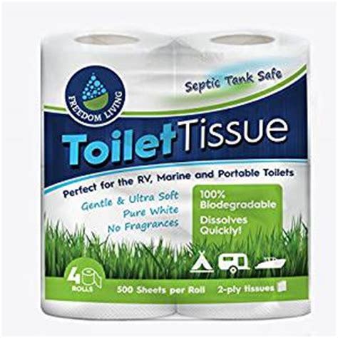 septic safe toilet paper best toilet paper for rv use 100 amazon com septic tank safe toilet tissue 2 ply 4 rolls