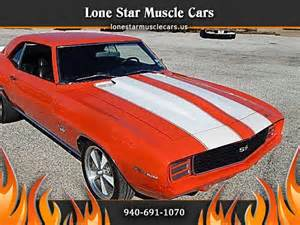 Lone Chevrolet Used Cars Used 1969 Chevrolet Camaro Ss For Sale In Wichita Falls Tx