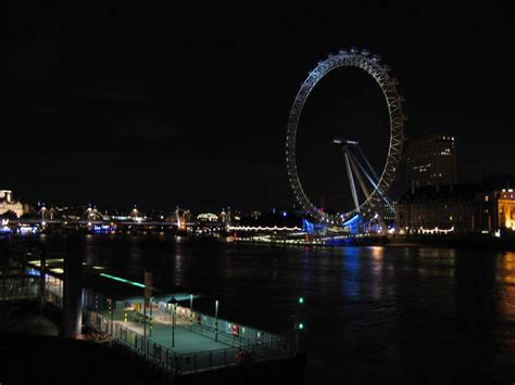 london eye themes thames and the london eye by night a photo from london
