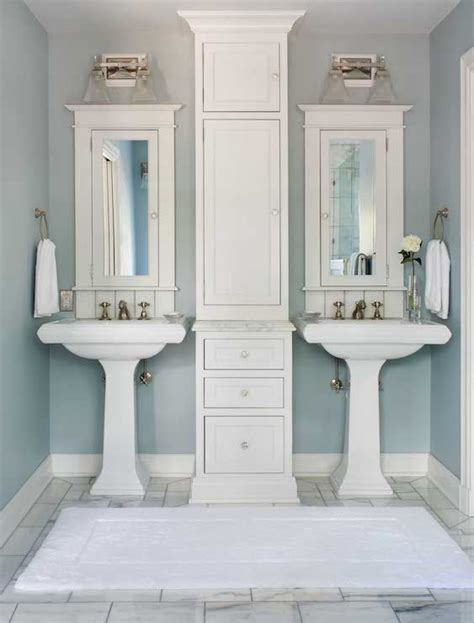 pedestal sink bathroom design ideas his and pedestal sinks design ideas