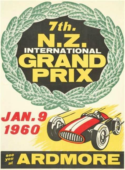 nz international grand prix poster  zealand fine prints