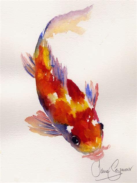 koi fish watercolor paintings 778 best art sumi e koi asian images on pinterest