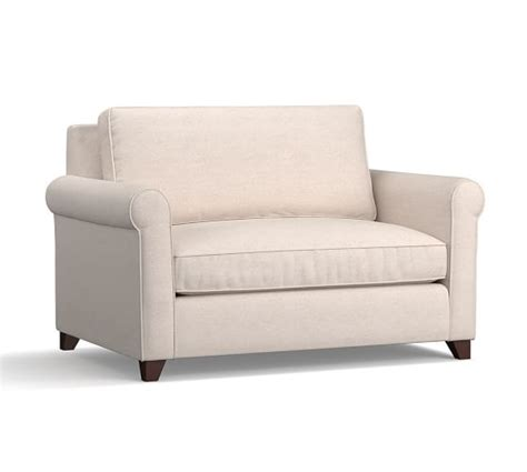 cameron roll arm upholstered armchair sleeper