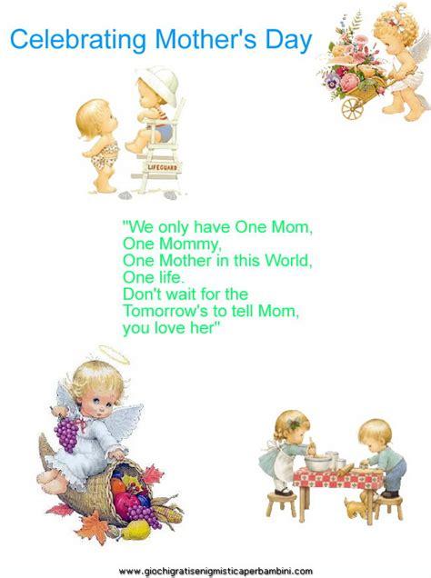 Mamma Search Poesie Per La Festa Della Mamma La Pappadolce The