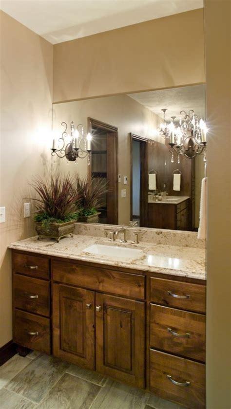 Knotty Alder Bathroom Vanity Custom Cabinetry Bathroom Cabinets Bath Vanity Knotty Alder Bathroom Stains