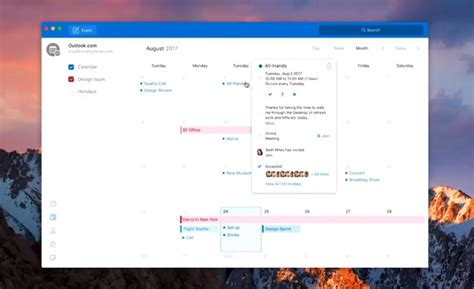 Outlook For Designers by Microsoft Outlook For Mac Gaining Simplified Redesign With Ui Similar To Ios App Mac Rumors