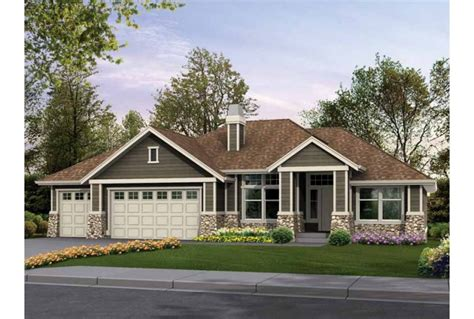 Rambler Style House Plans | eplans craftsman house plan classic rambler perfect for