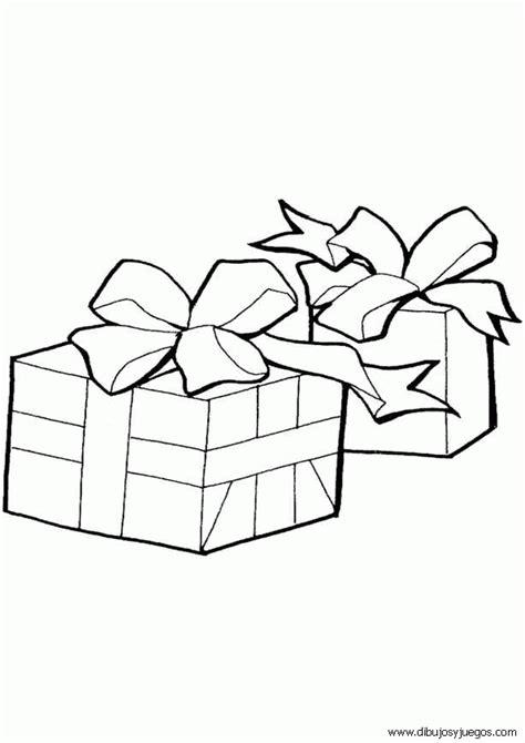 imagenes de navidad para colorear regalos mo 241 os de regalo dibujo imagui