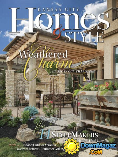kansas city home design magazine kansas city homes style 06 2017 187 download pdf