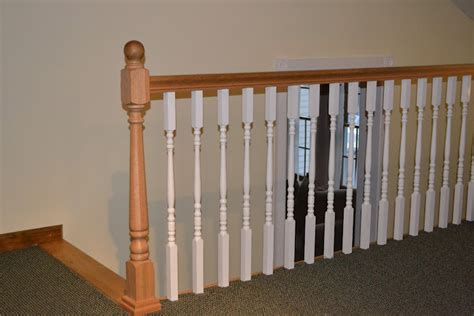 Banisters And Spindles by Build Wood Handrail New Design Woodworking