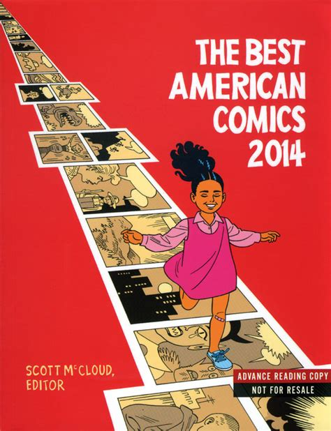 The Greatest American Comic Review The Best American Comics 2014 Editor Mccloud Series Editor Bill