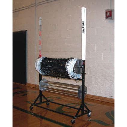 storage volleyball net winderantenna cart