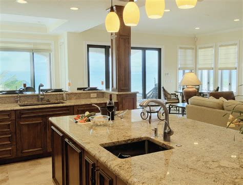 stunning open kitchen floor plans with island and