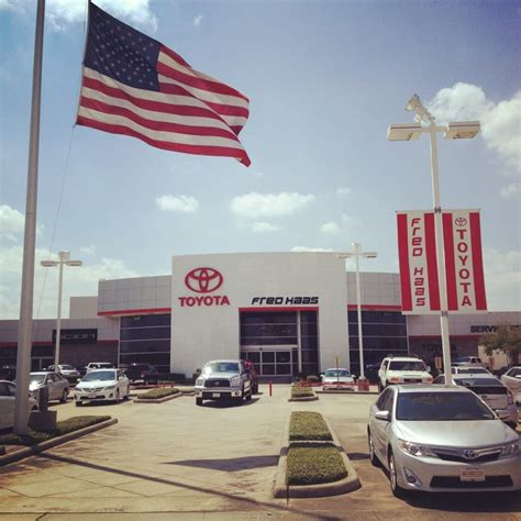 Fred Toyota Front Of Dealership Yelp