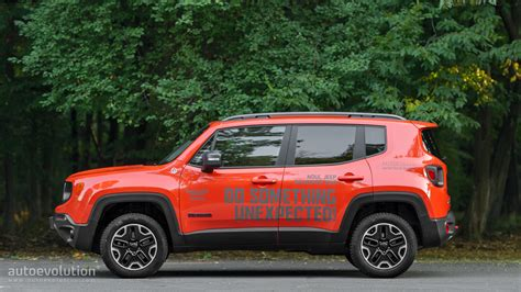 Jeep Renegade 2015 Reviews 2015 Jeep Renegade Trailhawk Review Autoevolution