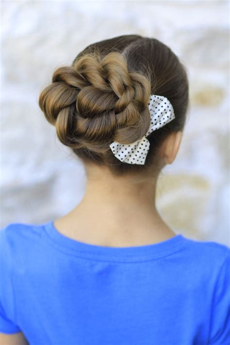 rope twisted bun hairstyles for prom hairstyles